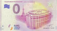 BILLET 0  EURO TOUR MONTPARNASSE  PARIS FRANCE 2018 NUMERO DIVERS