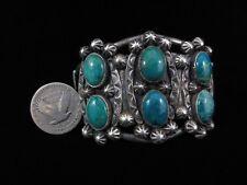 Vintage Navajo Bracelet - Sterling Silver and Turquoise