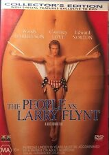 The People vs. Larry Flynt Woody Harrelson Region 4 DVD  Very Good Condition