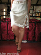 Vintage Style Ladies Worn Stockings Tan