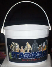STAR WARS POPCORN BUCKET from the SPECIAL EDITION TRILOGY - NEW UNUSED ON SALE!