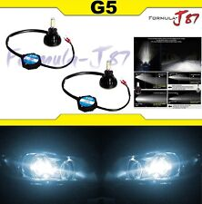 LED Kit G5 48W H3 6000K White Two Bulbs Fog Light Replacement Upgrade Lamp JDM