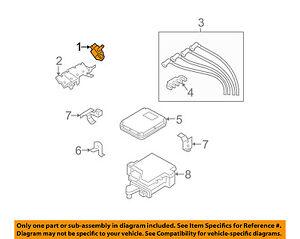 MAZDA OEM 04-11 RX-8-Ignition Coil N3H118100B9U