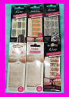 Kiss Nail Dress Polish Strips Applique Apps Stickers Wrap LOT OF 7 STYLES COLORS