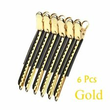 6/12 Pcs Hairdressing Women Duck Mouth Hair Clips Metal Hairpins Salon Clamps