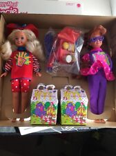 Rare 1994 Barbie McDonalds Happy Meal Stacie And Whitney Gift Set Sealed Box