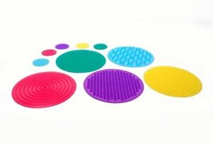 SENSORY ROOM SET OF 10 TACTILE TOUCH FLOOR MATS SECTION AUTISM ASPERGES ADHT