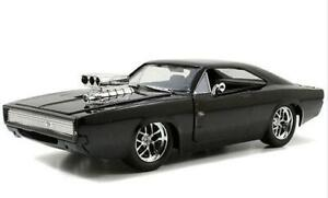 Jada Toys Fast & Furious Dom's Dodge Charger R/T, Gloss Black Item 97059 1:24