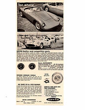 1958 DEVIN KIT CAR  ~   VINTAGE ORIGINAL PRINT AD
