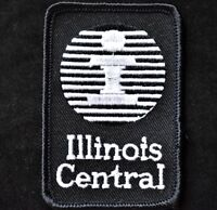Vintage Railroad Sew On Patch Illinois Central Railroad Illinois Railroadiana