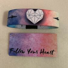 Zox Wristband Strap (Follow Your Heart #0911)