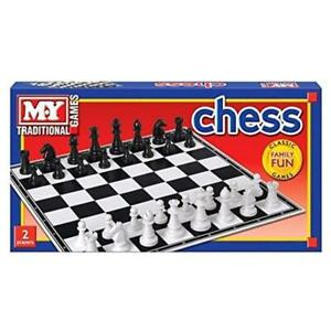 Classic Chess Set Traditional  Game Family Fun Kids Gift