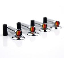 4xCarbon Fiber Black German Germany Flag Auto Car SUV Door Handle Lock Knob Pin