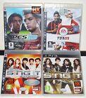 PLAYSTATION 3 PS3 LOTTO 4 GIOCHI DISNEY SING IT PES 2008 FIFA 09 - GAMES NUOVI
