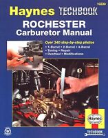 Rochester Carburetor Repair Manual