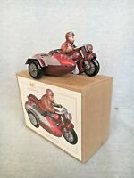 Boxed Wind Up Toy MS450 Man On Sidecar Gift For Him