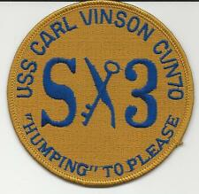 USS Carl Vinson CVN-70, S3   (US Navy Ship Patch)
