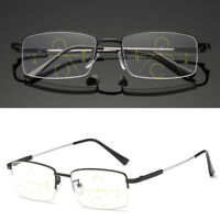 Anti Fatigue Reading Glasses Progressive Multifocal Lens Presbyopia For Elders