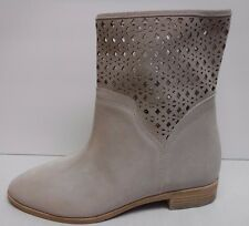 Michael Kors Size 8 Beige Taupe Leather  Ankle Boots New Womens Shoes