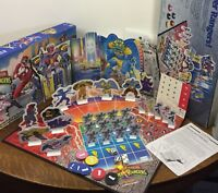 1993 MIGHTY MORPHIN POWER RANGERS BOARD GAME Complete Vintage Milton Bradley MB