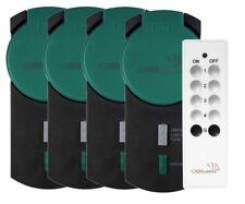 Pack de 4 prises wifi avec télécommande pour Smart wifi - Extérieur - Casa Cont