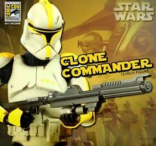 Sideshow 1/6 Scale Star Wars - Clone Commander Phase 1 Armor SDCC 2011 Exclusive
