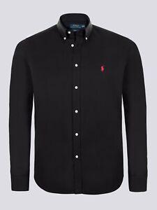 RALPH LAUREN Man Black Long-Sleeve Shirt