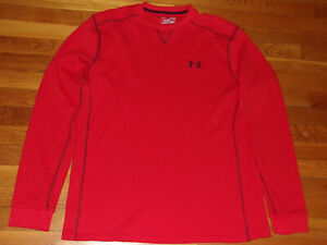 UNDER ARMOUR LONG SLEEVE LOOSE THERMAL SHIRT MENS XL EXCELLENT CONDITION