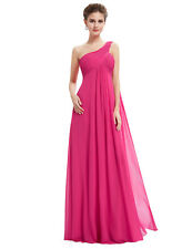 Ever-Pretty Long One Shoulder Bridesmaid Dresses Evening Homecoming Gowns 09816