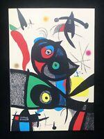 Joan Mirò - Ode a Joan Mirò: una lastra, 27x38 cm, 1973, litografia