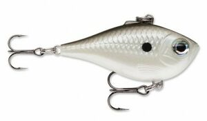 "Rapala Ultra Light Rippin Rap 04 ULRPR04-PGS Pearl Grey Shiner 1 1/2"" 3/16 oz"