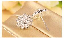 Hot Diamante/Crystal/CZ Bridal Ladies Stud Beautiful Sparkle Earrings *UK SELLER