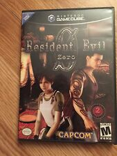 Resident Evil 0 Nintendo GameCube Game Mint Disks With Mainsail Tested Works BA2