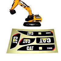 1PC Logo Aufkleber Sticker für 1:14 Huina 550/580 1580 TR-211m RC Bagger Teil