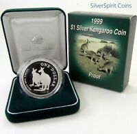 1999 KANGAROO Proof Silver Coin
