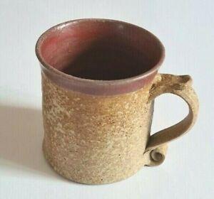 Jeremy Leach-Lowerdown Pottery-Devon-Cricket Club-Mug-Signed