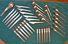 36 pc A. Michelsen Arne Jacobsen Stainless Flatware Danish Modern Mid Century