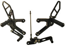 HONDA 2013-15 CB500F / CB500R WOODCRAFT REARSETS COMPLETE KIT - REVERSE GP SHIFT