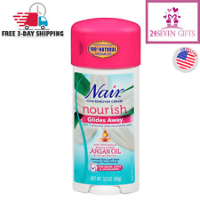 Nair Hair Remover Glides Away Body & Bikini Hair Removal Cream For Women 3.3 oz