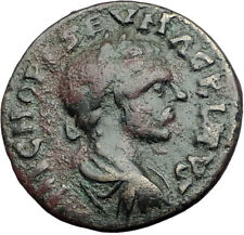 MACRINUS 217AD Parium Parion MYSIA Authentic Ancient Roman Coin GENIUS i64724