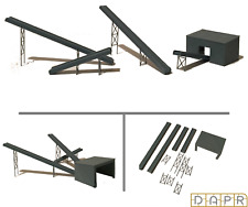 DAPR-N Gauge Model Railway Scenery Building Kit - Mining Quarry Conveyor Set