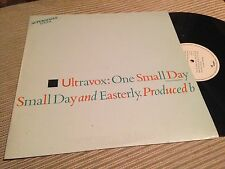 """ULTRAVOX SPANISH 12"""" MAXI SPAIN SYNTH POP ONE SMALL DAY RE-MIX"""