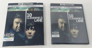 10 Cloverfield Lane 4K Ultra HD Blu-ray 2-Disc Set Sealed w/ Slipcover