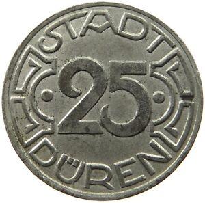 GERMANY NOTGELD 25 PFENNIG 1919 DUREN #c38 859