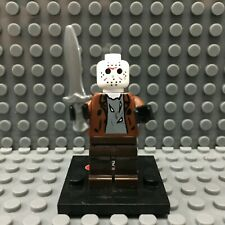 Jason Voorhees Custom Minifigure Horror Movie Minifigures LEGO Compatible