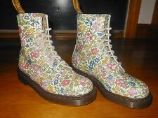 Dr Martens 1460 Small Flowers 8 eye women's boots - Sz 6 M - Euro 37 - Worn once