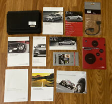 2016 Audi A4 S4 Owners Manual Set with Case Navigation Manual and Ami cable (Fits: Audi)