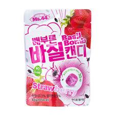 Ms.44 Basil Bomb Diet Candy (Strawberry) sugar free  high satiety 60g X 3