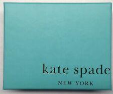 "Kate Spade New York Gift Box Empty 5.75"" x 4.5"" x 1.875"" Blue Orange"
