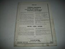 "1961 EVINRUDE "" SPORTWIN 10 "" MODEL'S 10022 10023 10023A 10022A  PARTS CATALOG"